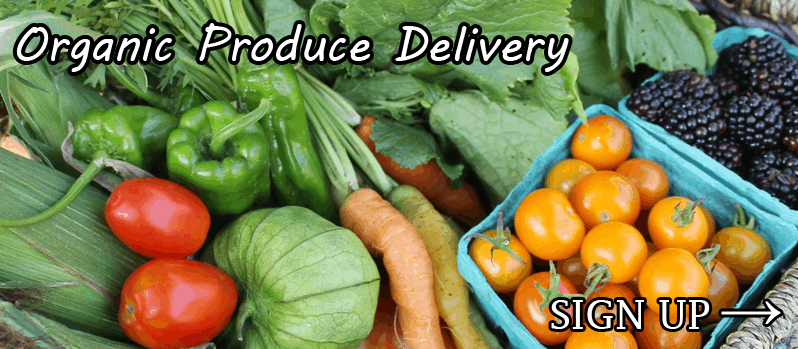 Sign up now to have fresh organic or local produce delivered to your home or office.