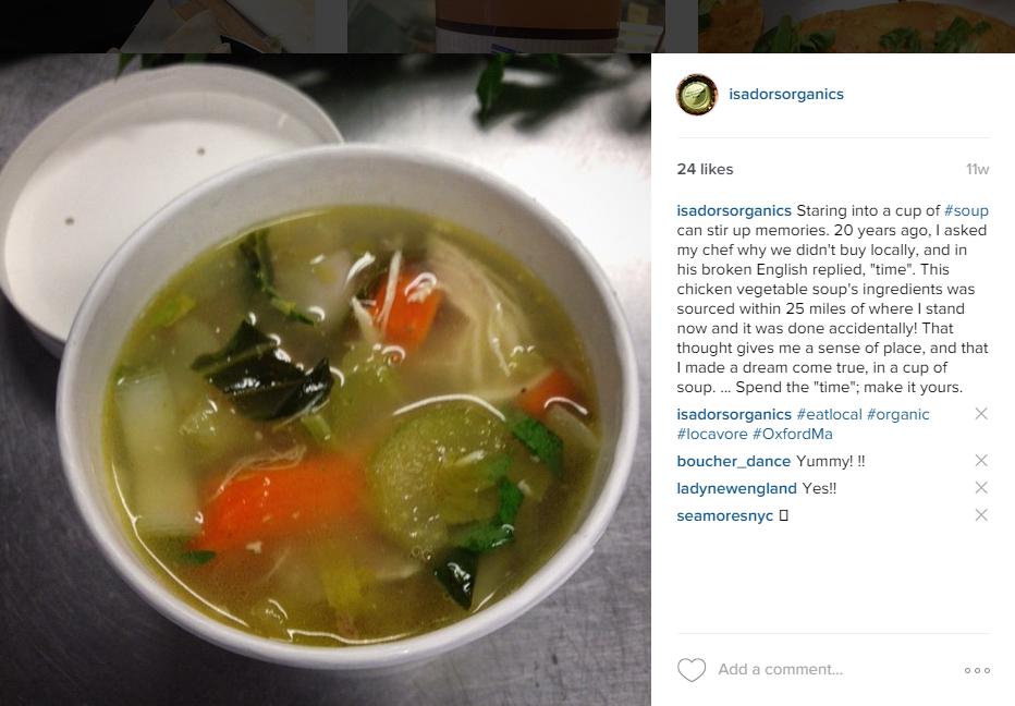 instagram soup