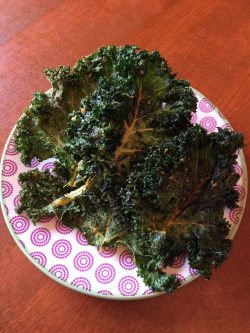 DIY Kale Chips!